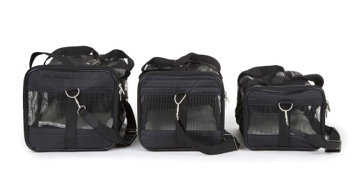image of sherpa delux airline approved carrier