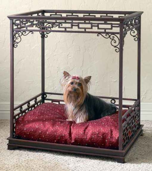 classy bed for pets