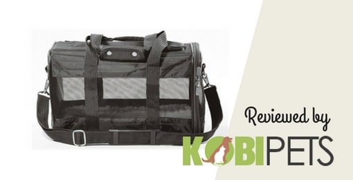 image of sherpa deluxe pet carrier