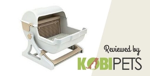 Le-you-pet-semi-automatic-quick-cleaning-cat-litter-box