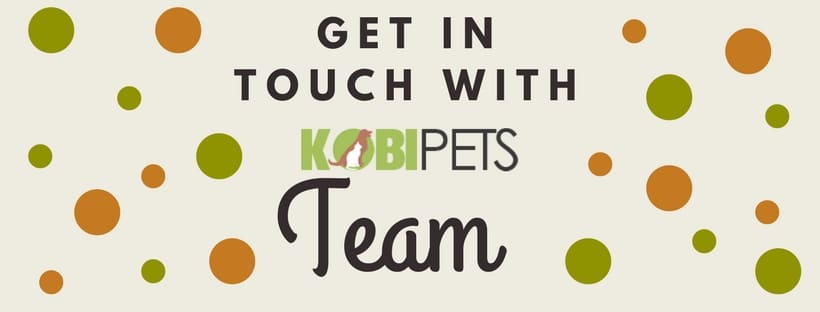 kobi pets contact page cover