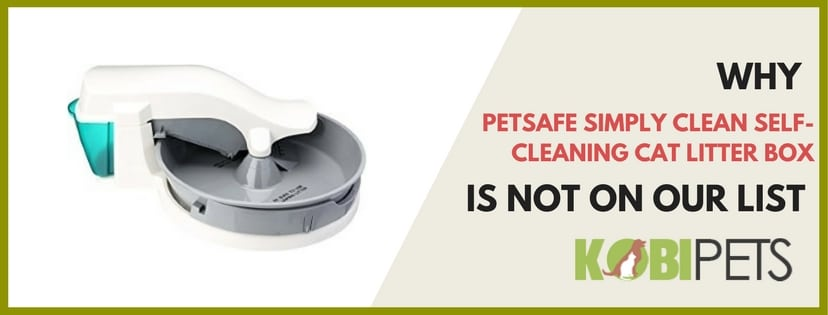 petsafe simply clean not on our list