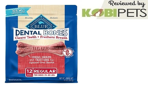Blue Buffalo Blue Dental Bones Natural Dog Chews