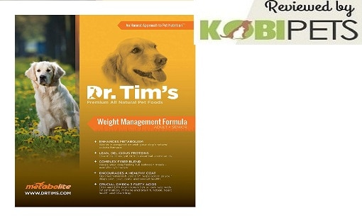 Dr. Tim's Premium Weight Management Pet Food