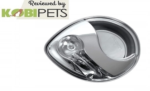 Pioneer Pet Raindrop Stainless Steel Pet Drinking Fountain